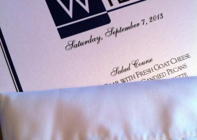 Personalized WILA menu