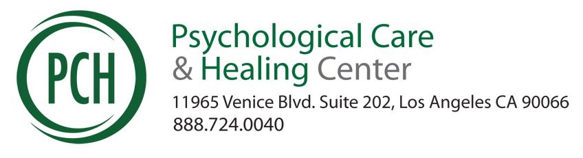 PCH logo with address