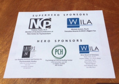 A giant WILA thank you to our sponsors!