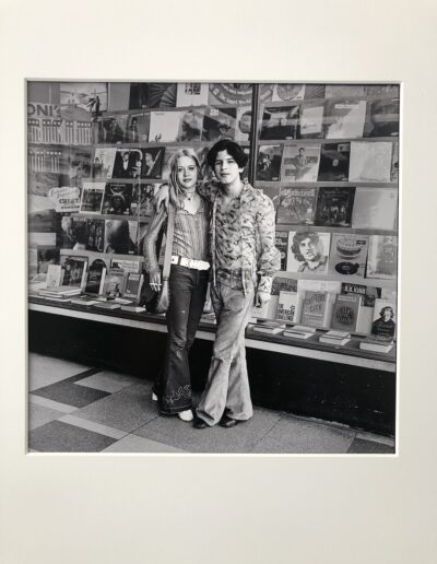(3) Couple in Front of Bookstore, 1969-1972