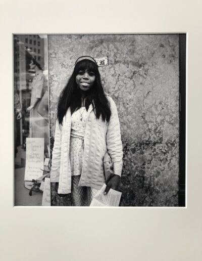 (7) Girl with Paint Face, 1969-1972